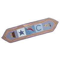 "Cowboy Table Runner Long 72""W x 16""L"