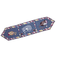 "Kitty Cats Table Runner Long 72""W x 16""L"