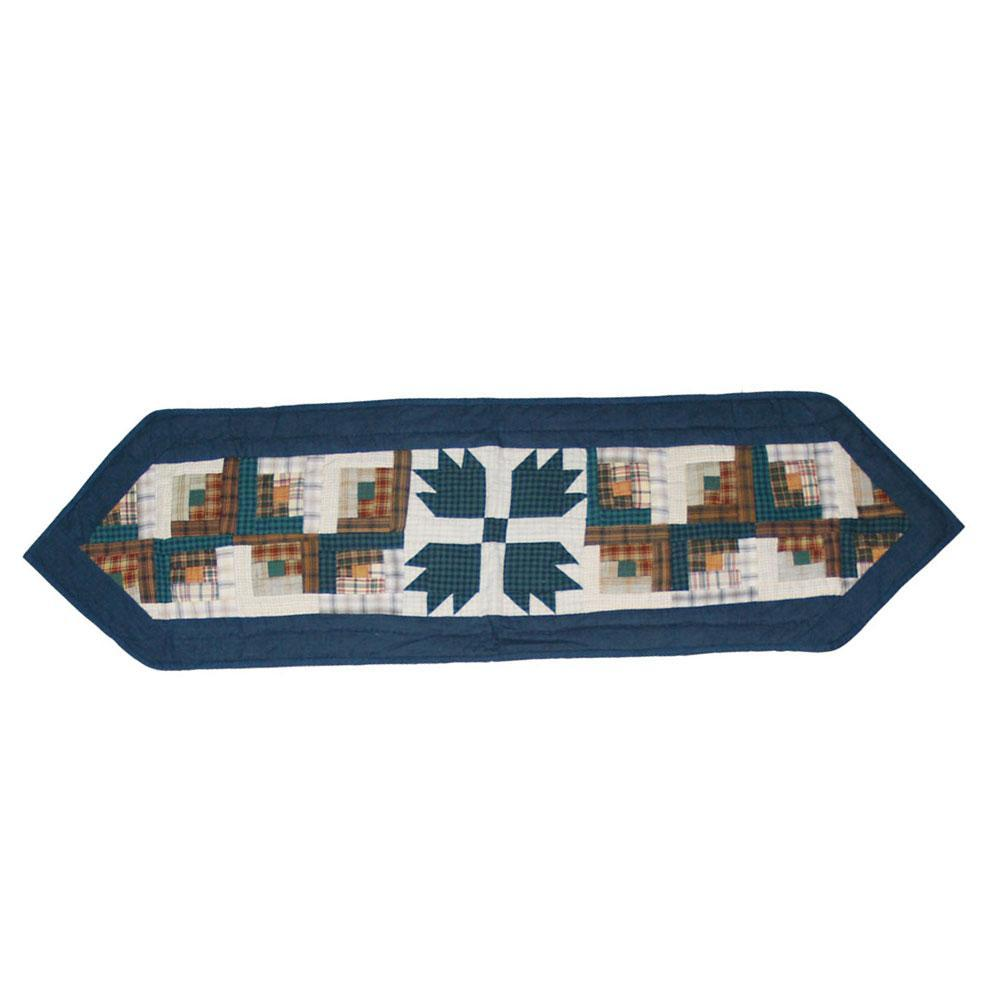 "Bear Creek Table Runner Short 54""W x 16""L"