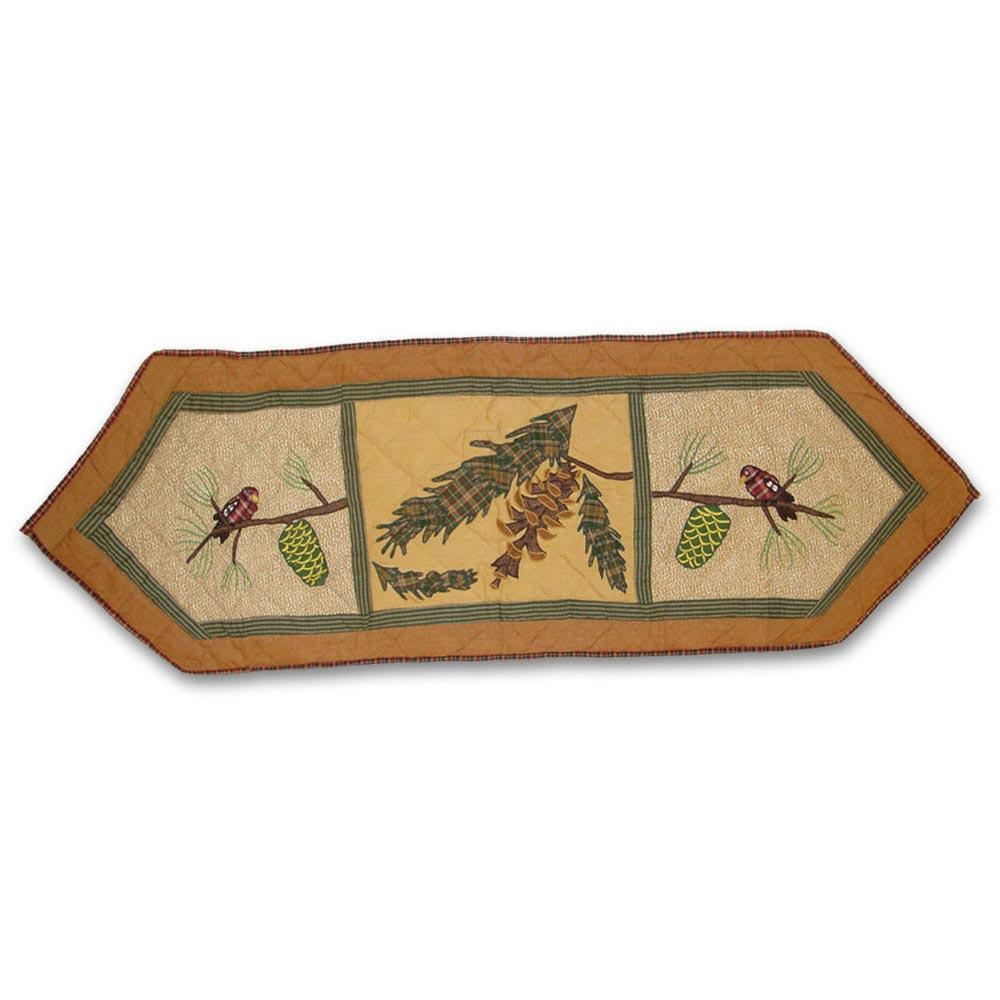 """Pinecone Table Runner Short 54""""W x 16""""L"""
