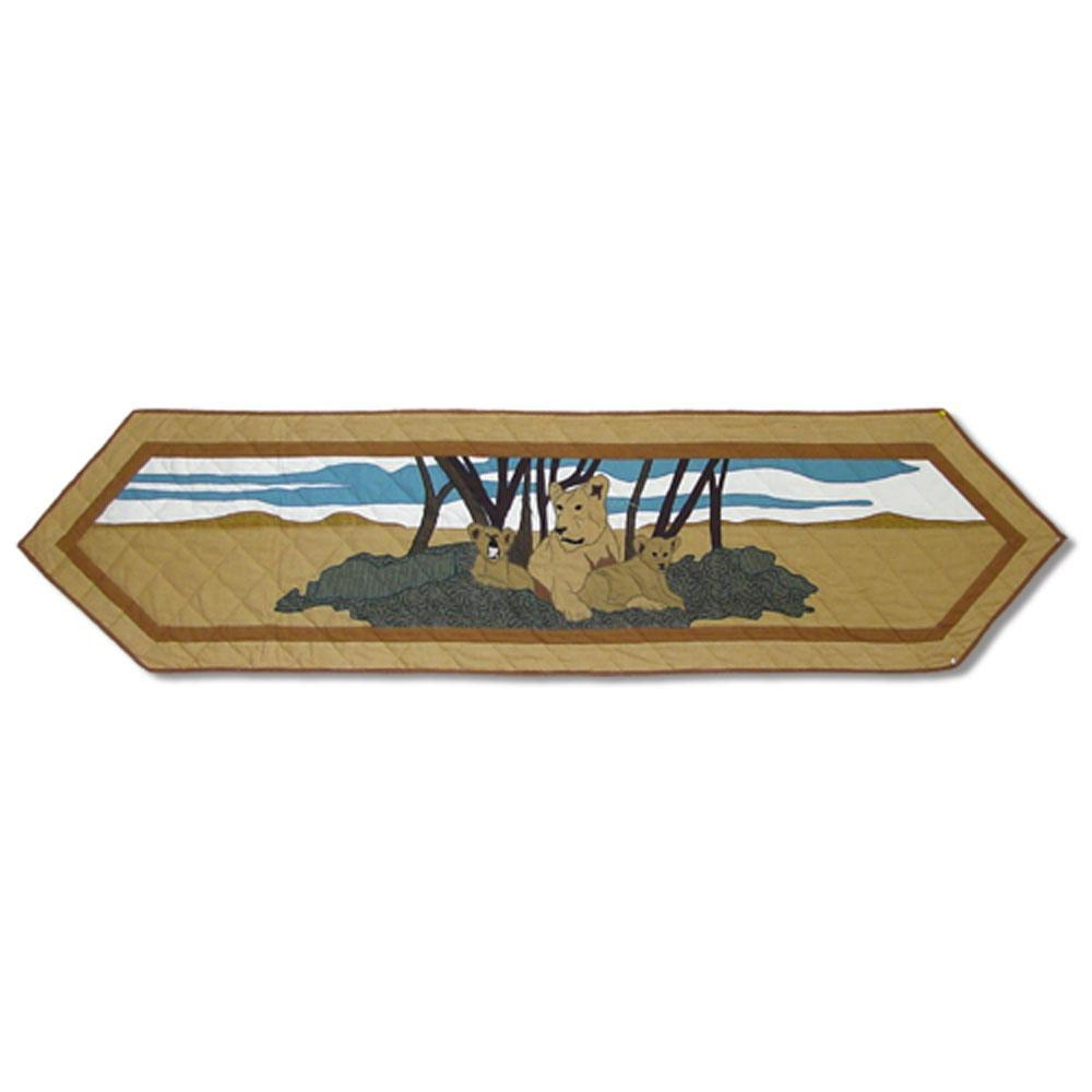 "Safari Table Runner Short 54""W x 16""L"