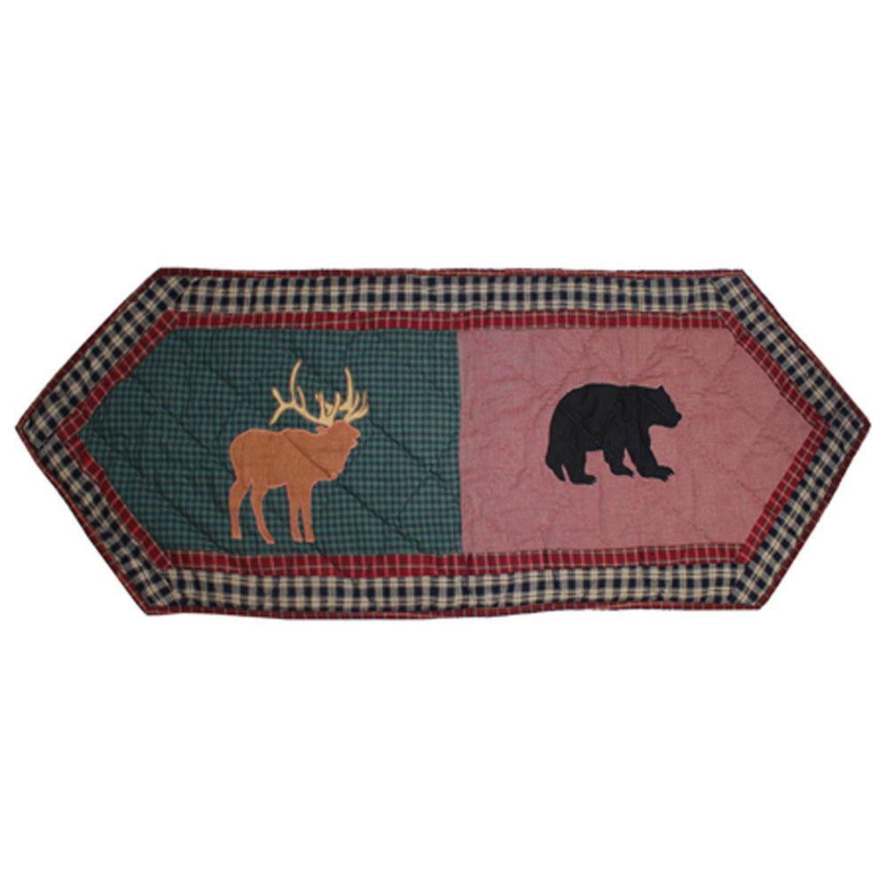 "Winter Trails Table Runner Short 54""W x 16""L"