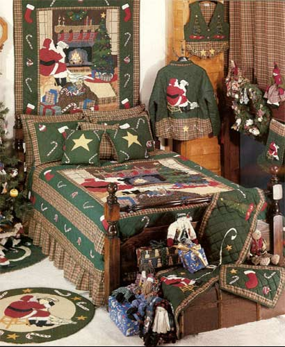 Santa By The Fireside
